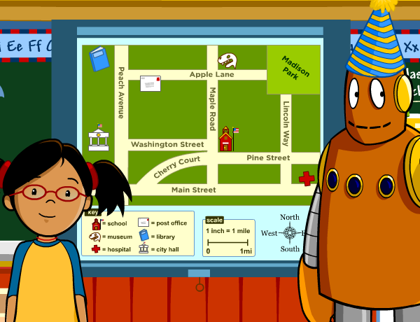 Reading Maps  BrainPOP Jr